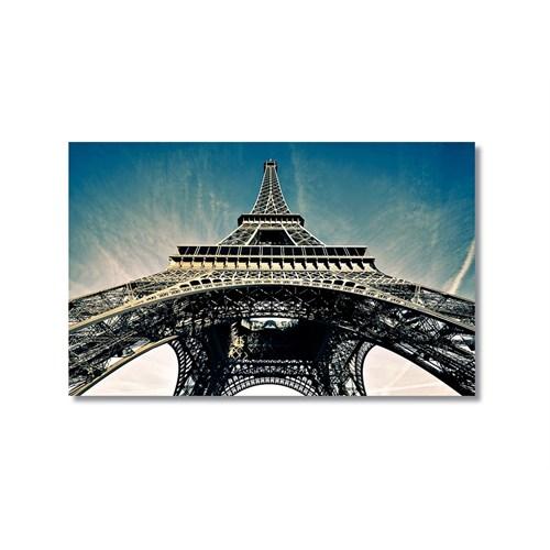 Tictac Eyfel Kulesi 2 Kanvas Tablo - 50X75 Cm