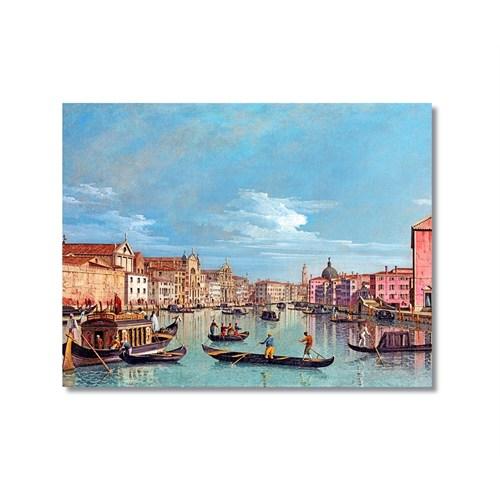 Tictac Venedik 6 Kanvas Tablo - 40X60 Cm