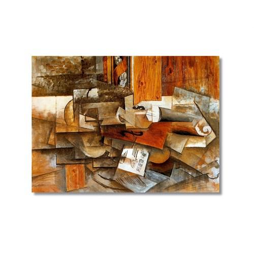 Tictac Picasso 4 Kanvas Tablo - 50X75 Cm