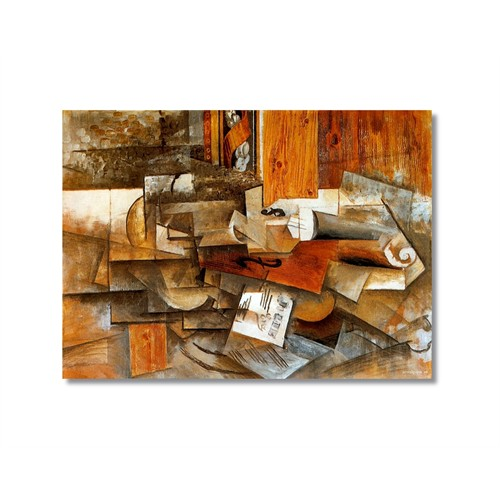 Tictac Picasso 4 Kanvas Tablo - 60X90 Cm