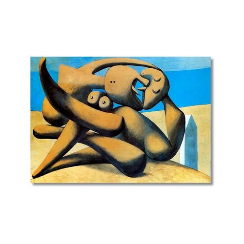Tictac Picasso 6 Kanvas Tablo - 50X75 Cm
