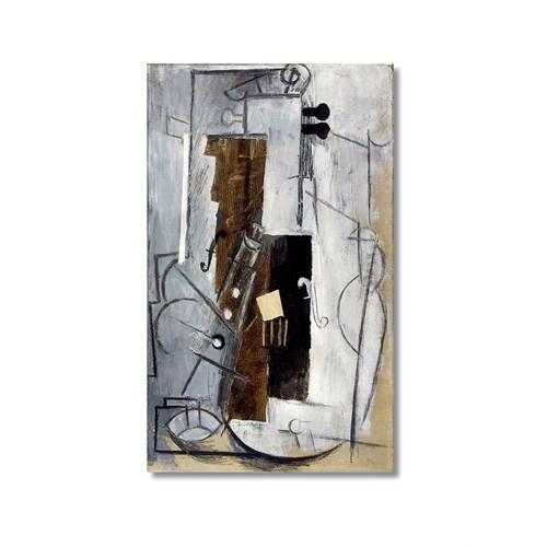 Tictac Picasso 7 Kanvas Tablo - 60X90 Cm