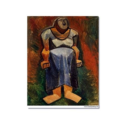 Tictac Picasso 8 Kanvas Tablo - 50X75 Cm