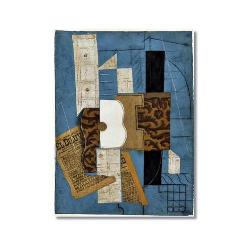 Tictac Picasso 14 Kanvas Tablo - 40X60 Cm