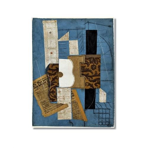 Tictac Picasso 14 Kanvas Tablo - 60X90 Cm