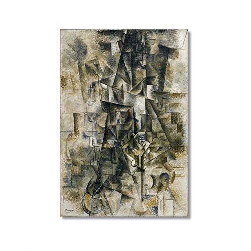 Tictac Picasso 15 Kanvas Tablo - 50X75 Cm
