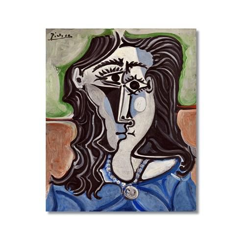 Tictac Picasso 16 Kanvas Tablo - 50X75 Cm