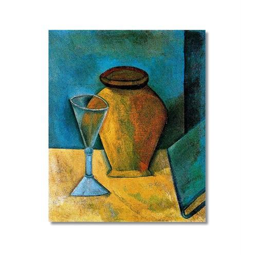 Tictac Picasso 17 Kanvas Tablo - 50X75 Cm