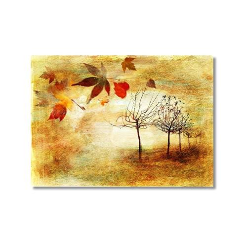 Tictac Sonbahar Kanvas Tablo - 40X60 Cm