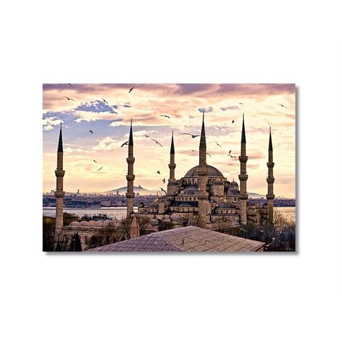 Tictac Sultan Ahmet Cami Kanvas Tablo - 60X90 Cm