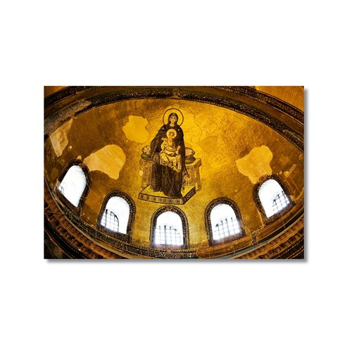 Tictac Aya Sofya 2 Kanvas Tablo - 50X75 Cm