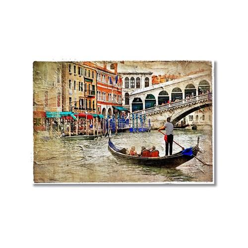 Tictac Venedik 7 Kanvas Tablo - 60X90 Cm