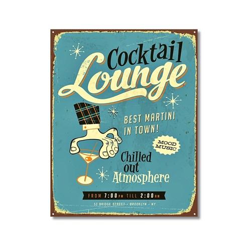 Tictac Cocktail Lounge Kanvas Tablo - 60X90 Cm
