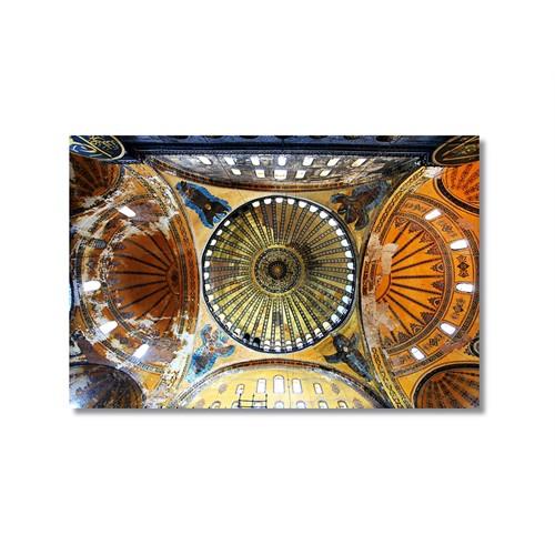 Tictac Ayasofya 5 Kanvas Tablo - 50X75 Cm