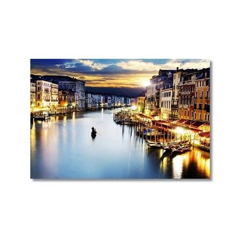 Tictac Venedik 10 Kanvas Tablo - 60X90 Cm