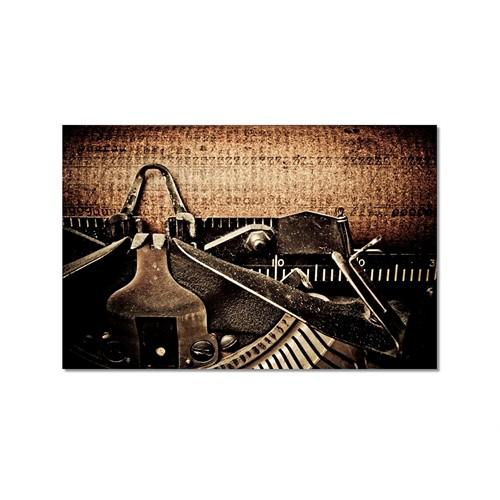 Tictac Daktilo Kanvas Tablo - 50X75 Cm