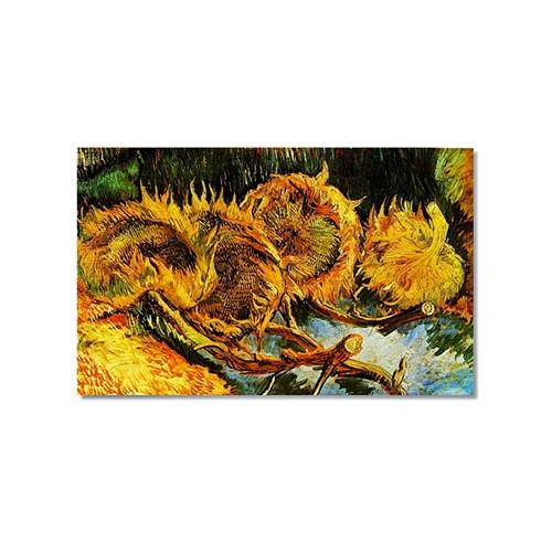 Tictac Van Gogh Ayçiçekleri 2 Kanvas Tablo - 50X75 Cm