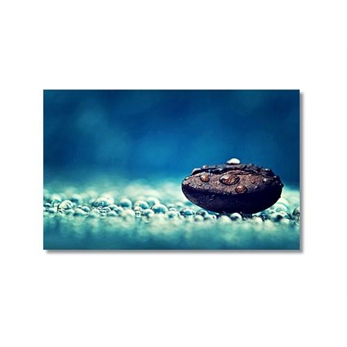 Tictac Taş Ve Damlalar Kanvas Tablo - 40X60 Cm