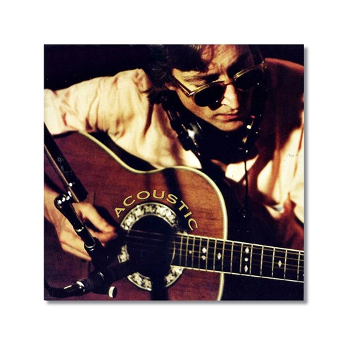 Tictac John Lennon Kanvas Tablo - 60X60 Cm