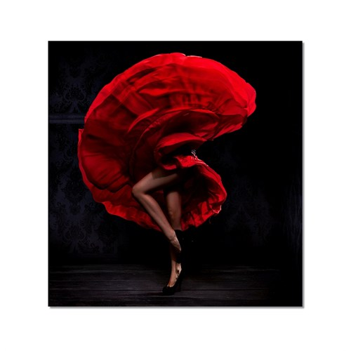 Tictac Tango Kanvas Tablo - 50X50 Cm