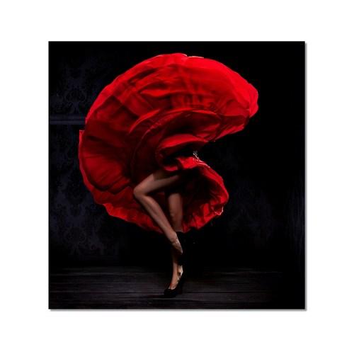 Tictac Tango Kanvas Tablo - 70X70 Cm