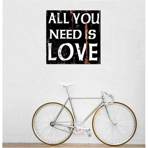 Tictac All You Need Kanvas Tablo - 70X70 Cm