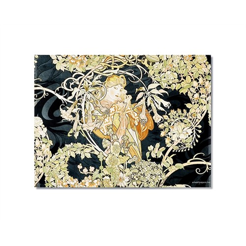 Tictac Vintage 1 Kanvas Tablo - 50X50 Cm