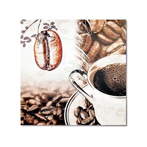 Tictac Kahve Çekirdeği 2 Kanvas Tablo - 60X60 Cm