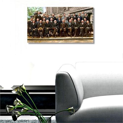 Tictac Dahiler Kanvas Tablo - 60X120 Cm