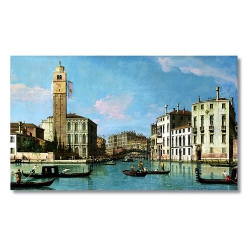 Tictac Venedik 1 Kanvas Tablo - 50X100 Cm