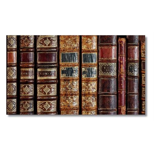Tictac Kitaplar Kanvas Tablo - 50X100 Cm