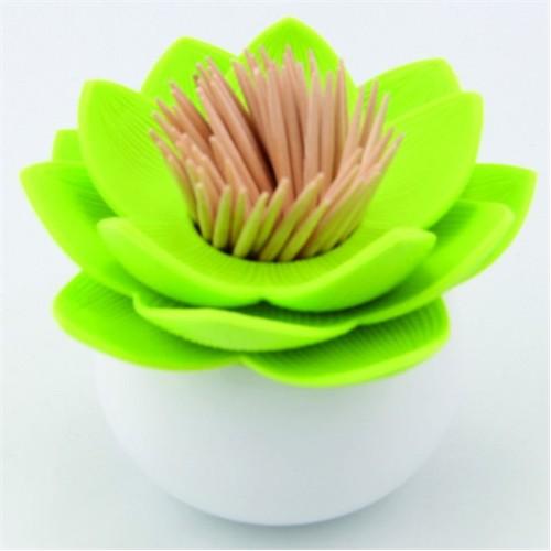 Giftpoint Çiçek Kürdanlık Yeşil