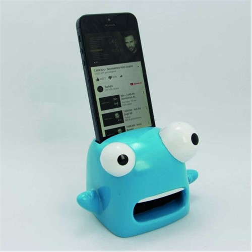 Giftpoint Iphone Ses Yükseltici +30 Desibel Ses Mavi