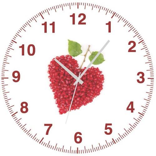 Rem Narlı Kalp Saat 27 Cm