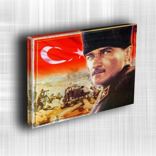 Doku Canvas Baskı Atatürk Atge-004/ 50*50