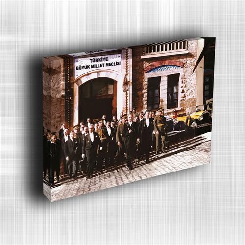 Doku Canvas Baskı Atatürk Atge-006/ 50*50