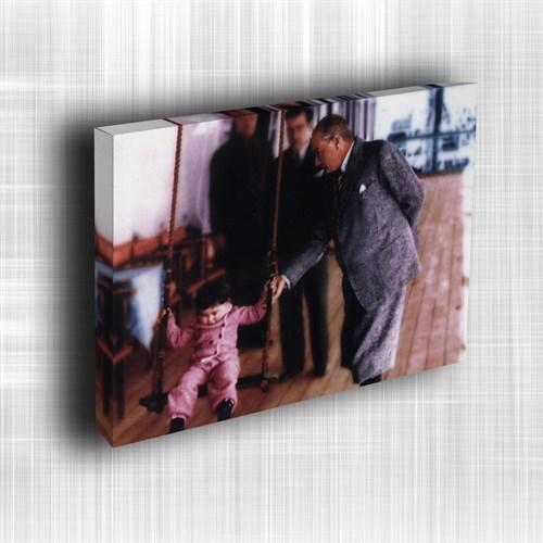 Doku Canvas Baskı Atatürk Atge-007/ 50*50