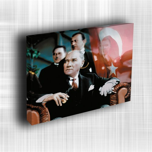 Doku Canvas Baskı Atatürk Atge-015/ 35*50