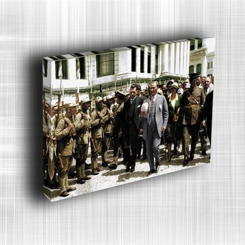 Doku Canvas Baskı Atatürk Atge-025/ 50*50