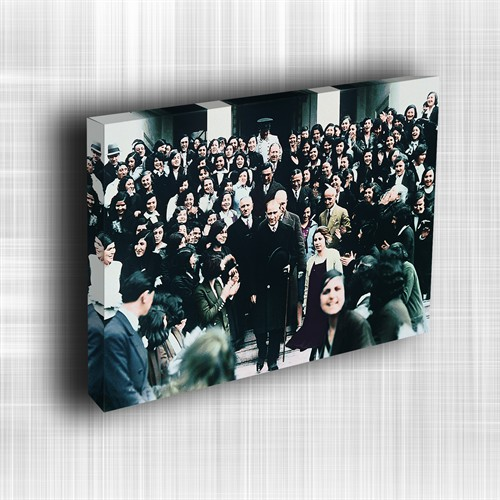 Doku Canvas Baskı Atatürk Atge-026/ 50*50
