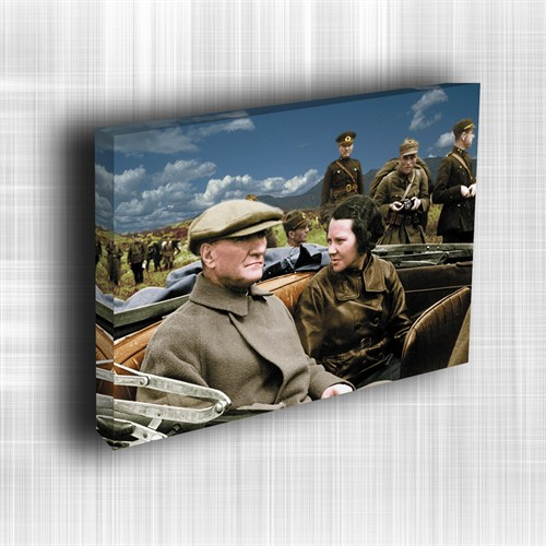 Doku Canvas Baskı Atatürk Atge-027/ 50*50