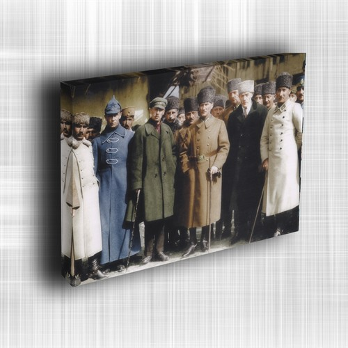 Doku Canvas Baskı Atatürk Atge-031/ 50*50