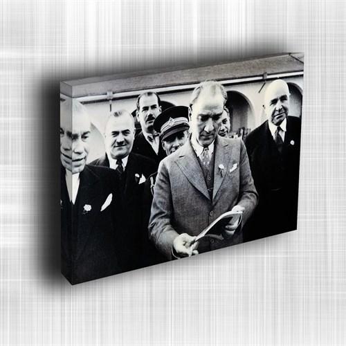 Doku Canvas Baskı Atatürk Atge-087/ 35*50
