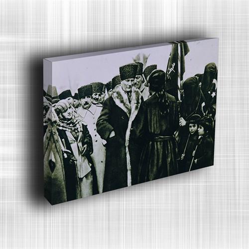 Doku Canvas Baskı Atatürk Atge-108/ 60*50