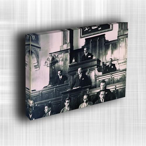 Doku Canvas Baskı Atatürk Atge-119/ 60*50
