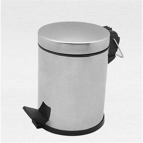 Çöp Kovası Pedallı Paslanmaz 12 Lt