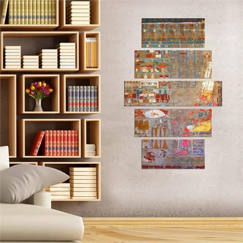 5 Parçalı Dekoratif Tablo D5tp176