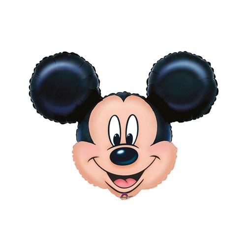 KullanAtMarket Mickey Mouse Super Shape Folyo Balon 69 Cm X 53 Cm 1 Adet