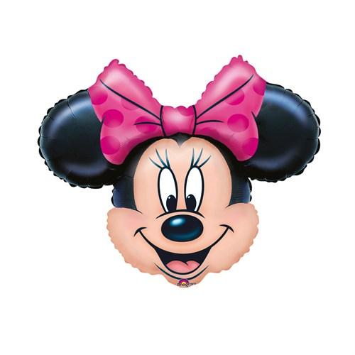 KullanAtMarket Minnie Mouse Super Shape Folyo Balon 69 Cm X 53 Cm 1 Adet