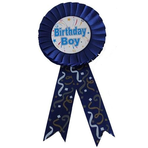 Pandoli Birthday Boy Yazılı Lacivert Rozet
